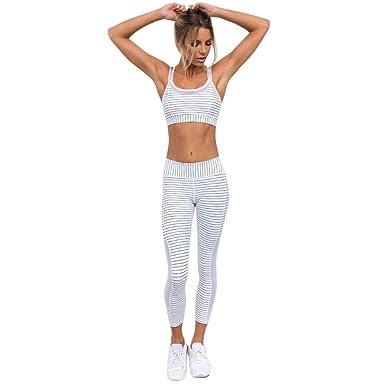 Cebbay Mujer Skinny Fitness Leggings Pantalones Deportiva ...