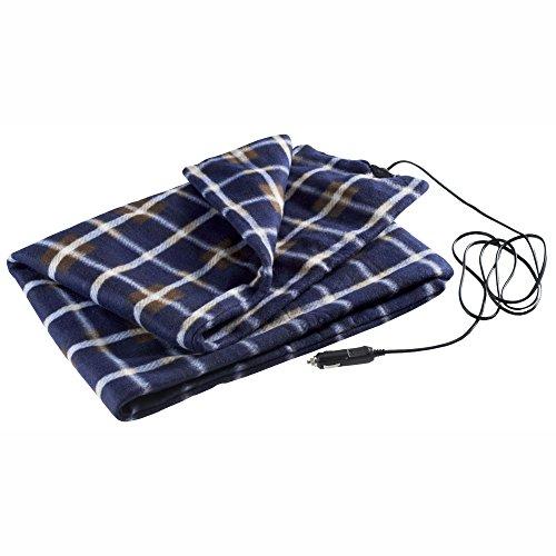 High Road 12V Heated Fleece Travel Blanket for Cars, RVs, Trucks, SUVs and Vans