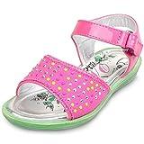 Mandy Romantic Girls Summer Beach Open-Toe Strap Sandal (Toddler/Little Kid/Big Kid)