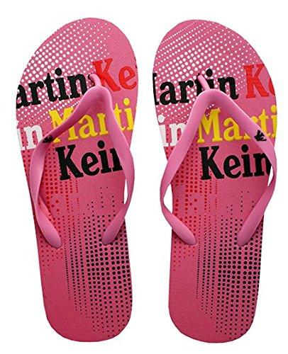 Martin kein Curaçao–Strand Flip Flops Pink Gr. 38