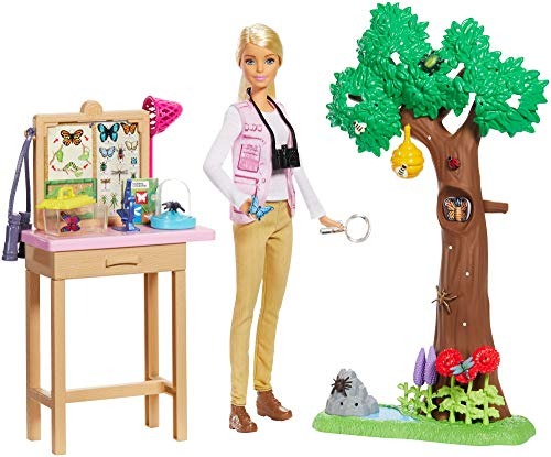 Barbie Entomologist Doll & Playset