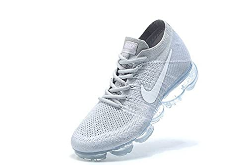 Nike Air Vapormax Flyknit Platinum Wolf Grey New Authentic