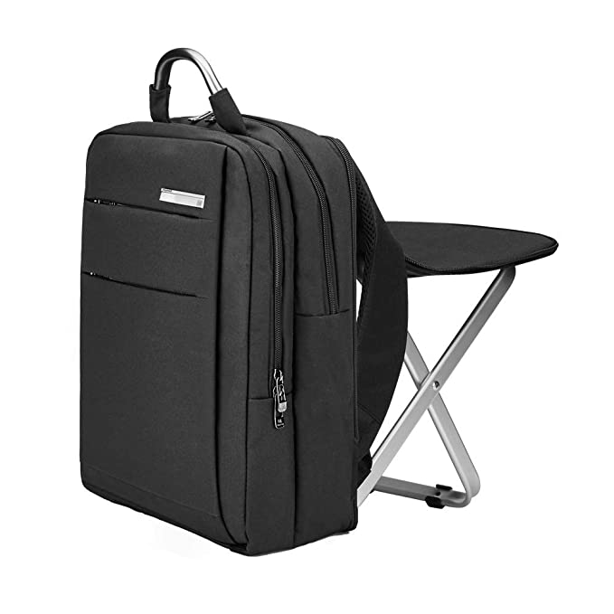 Large Capacity Backpack and Portable Folding Cooler Chair