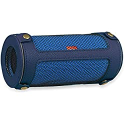 Fintie Protective Case for JBL Flip 3 - Premium PU Leather Carrying Sleeve Protective Cover with Carabiner For JBL Flip3 Splashproof Portable Bluetooth Speaker, Navy