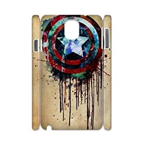 Captain America Design Top Quality DIY 3D Hard Case Cover for Samsung Galaxy Note 3 N9000, Captain America Galaxy Note 3 N9000 3D Phone Case