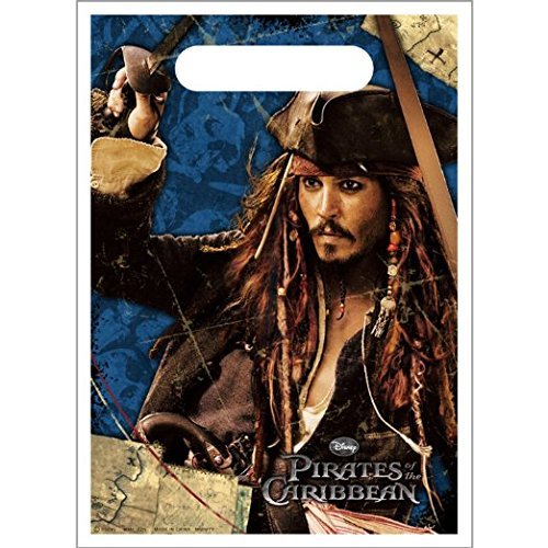 Pirates of the Caribbean: On S Favor Bags (8 per package) ()