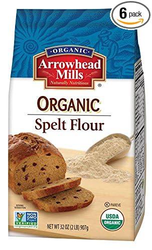 Arrowhead Mills Organic Spelt Flour, 2 Pound (Pack of 6)