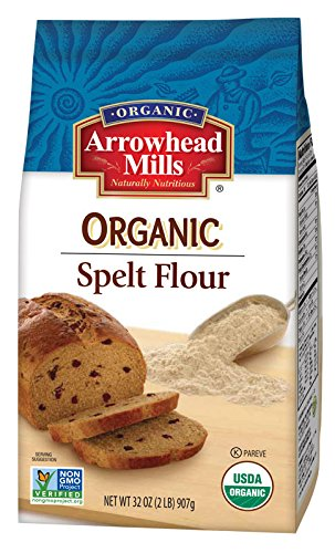 Amazon.com : Arrowhead Mills Organic Spelt Flour, 2 Pound (Pack of 6) : Rice Flours : Grocery & Gourmet Food
