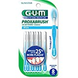 GUM Go Between Proxabrush Refills for Wide Tooth Spaces - 8 Ea (pack of 2)