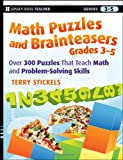Math Puzzles and Brainteasers, Grades 3-5, Terry Stickels, 0470227192