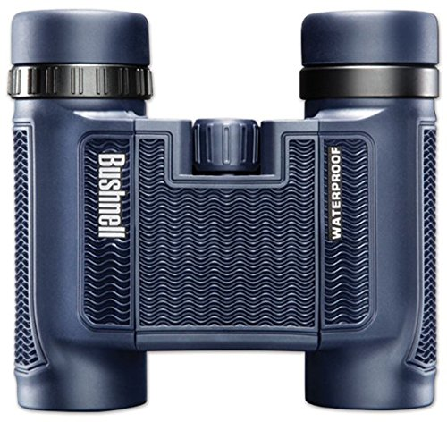 Bushnell 138005 H2O Waterproof/Fogproof Compact Roof Prism Binocular, 8 x 25-mm, Black by Bushnell
