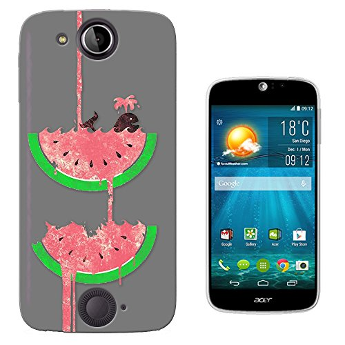 c01065 - Cool Fun Swimming Whale Watermelon Summer Fruit Waterfall Design Acer (Jade Waterfall)