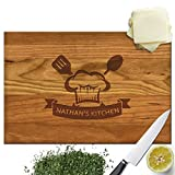 Froolu Good Cook solid wood chopping board for Kid Chef Birthday Gifts