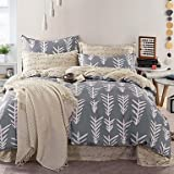 Quilt cover 100% Cotton Twill Nordic Home Design Duvet Cover Set for Queen Size Bed , queen