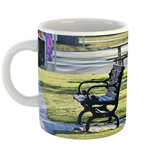 Westlake Art - Park Bench - 11oz Coffee Cup Mug - Modern Picture Photography Artwork Home Office Birthday Gift - 11 Ounce (FE80-92427) from Westlake Art