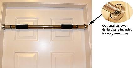Bulfyss Door Pull Up Gym Bar / Chin Up Bar / Height Bar Adjustable 64-  sc 1 st  Amazon.com & Amazon.com : Bulfyss Door Pull Up Gym Bar / Chin Up Bar / Height Bar ...