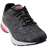 Avia Women's Avi-Versa Sneaker, Iron Grey/Black/Pink Energy, 9.5 Medium US