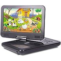"Laser DVD/USB Player Portable 10"" Screen Multi Region/All Region/Free Zone Code"