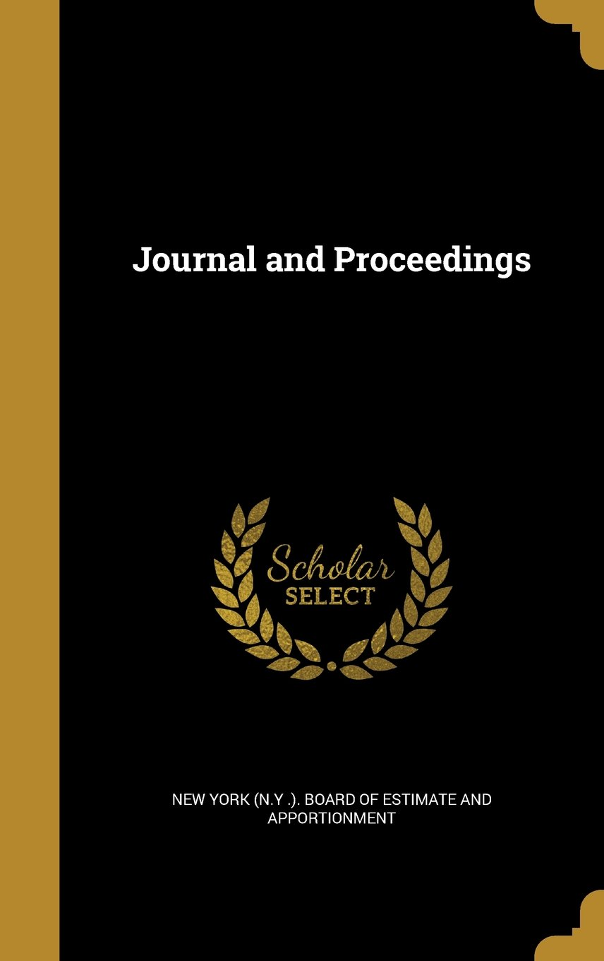 Download Journal and Proceedings pdf