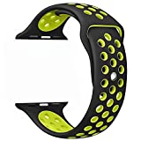 (US) Watch Band 42mm Silicone Replacement iWatch Band Sport Edition Nike+