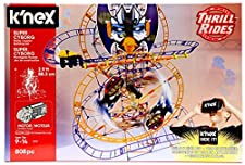 K'NEX Thrill Rides Super Cyborg Roller Coaster Building Set