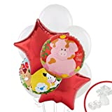 Barnyard Childrens Birthday Party Supplies - Balloon Bouquet Decoration