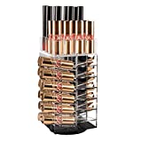 Acrylic Rotating Lipstick Holder Alotpower Cosmetic Organizer Tower 64 Lipstick Holder Organizer Makeup Tower Organizer