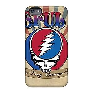 Iphone 6plus TIA2541tLEJ Unique Design Beautiful Grateful Dead Band Skin Excellent Hard Phone Covers -InesWeldon