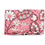 Vera Bradley All Wrapped Up Jewelry Roll in Blush Pink