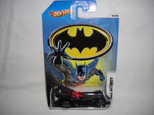 (Hot Wheels 2012 Batman Series #5 of 8 Batmobile Affinity 1:64 Scale)