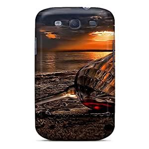 Ultra Slim Fit Hard NikRun Case Cover Specially Made For Galaxy S3- Beach by supermalls