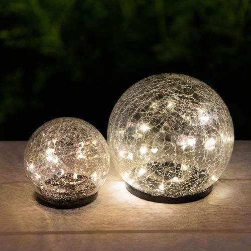 GALIX Premium Solar-Glas-Leuchtkugel