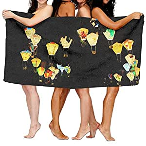 """Space Jelly Bath Bathroom Shower Towels Bath Towel Wrap, 31.5"""" X 51.2"""" Mini Multi-purpose, Ideal For Home And Travel Use"""