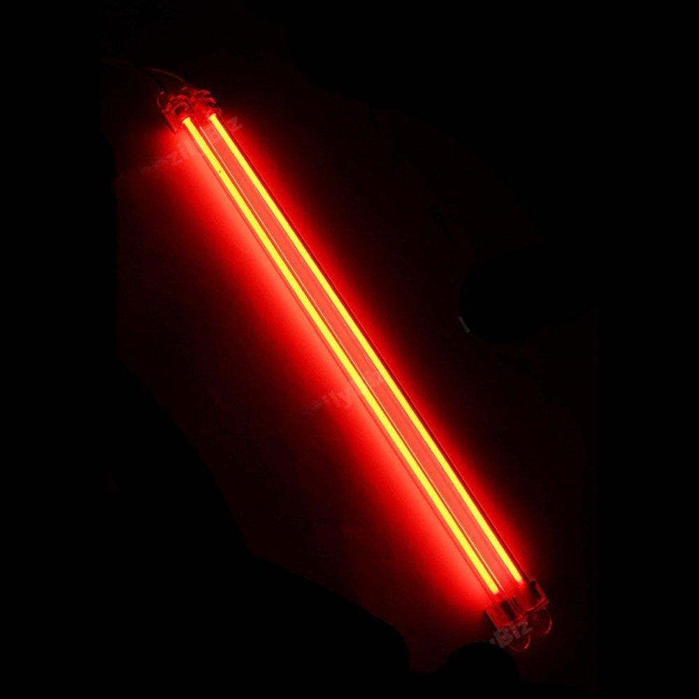 Mintice/™ 15cm 30cm KFZ Unterboden Innenbeleuchtung Fu/ßraumbeleuchtung Neonr/öhren Licht Kaltkathoden Blau CCFL