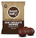 Boost Ball Raw Chocolate Brownie 42g (Pack of 12)