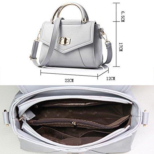 Modische Damen-Tasche PU-lederne Handtasche-haltbare Geldbeutel-Tote-Beutel-Schulter-Beutel #22