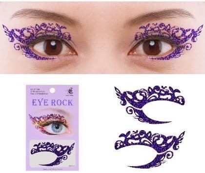 Ojo Liner Pegatinas Tatuajes temporal de los ojos Maquillaje para ...