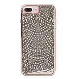Case-Mate iPhone 8 Plus Case - BRILLIANCE - 800+ Genuine Crystals - Protective Design for Apple iPhone 8 Plus - Lace