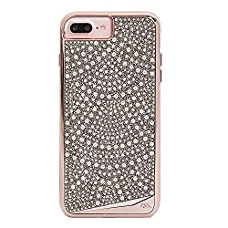 Genuine Crystals Protective iPhone Case Cover