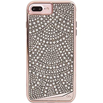 Case-Mate iPhone 8 Plus Case - BRILLIANCE - 800+ Genuine Crystals - Military Drop Protection - Protective Design for Apple iPhone 8 Plus - Lace