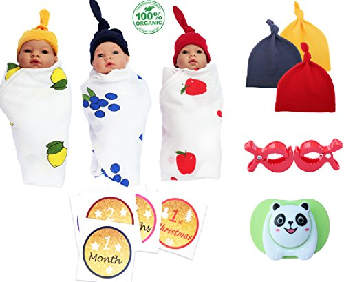 Liquidation Sale: 24 PC Baby Shower Gift Set with 3 100% Org
