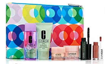 1407695f0f3 Image Unavailable. Image not available for. Color: Clinique Spring 7 Pcs  Skinecare Makeup Gift Set Macy's ...