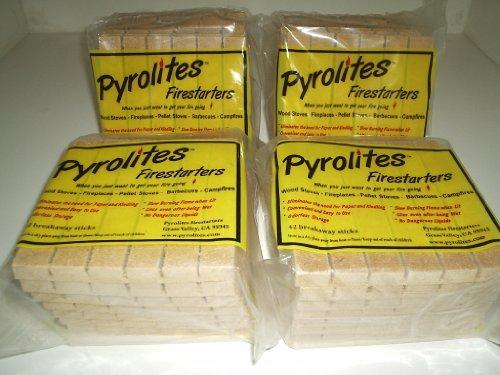 Pyrolites Firestarters 42/breakaway Sticks (Box of 4-42/stk. Packages)