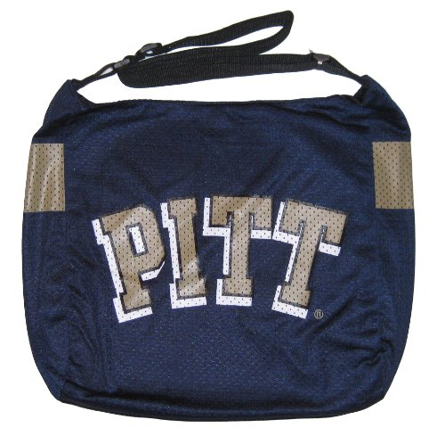 University of Pittsburgh Pitt Panthers NCAA Veteran Jersey Tote Purse ()