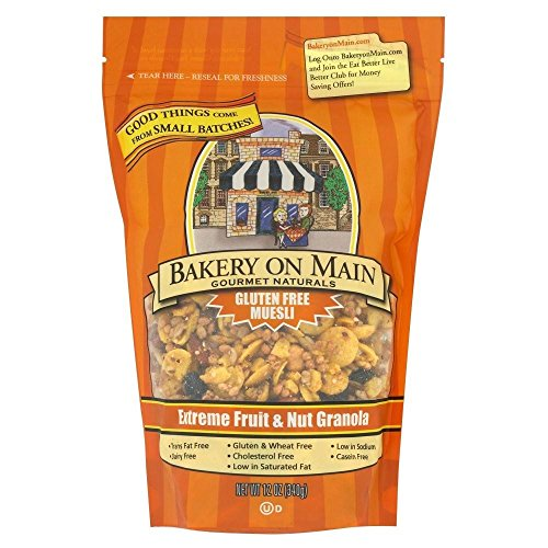 Bakery on Main Extreme Fruit & Nut Gluten Free Granola (340g) - Pack of 6 by Bakery On Main
