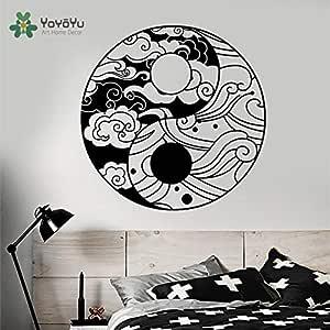 yaoxingfu Tatuajes de Pared Diseño Moderno Especial Patrón de Yin ...