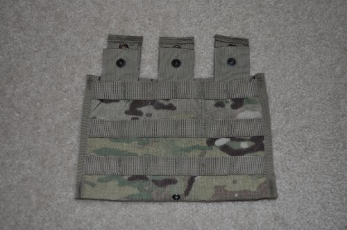 Official US Mil OCP MOLLE II Triple Mag 30 Round ()