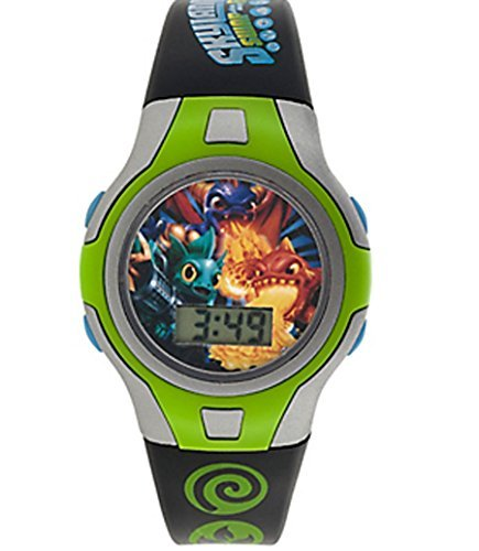 green-skylanders-boys-lcd-watch-with-adjustable-wristband-printed-with-skylanders-logos-and-themed-m