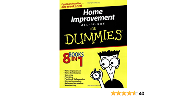 Home Improvement All In One For Dummies Barnhart Roy Carey James Carey Morris Hamilton Gene Hamilton Katie Prestly Donald R Strong Jeff 9780764556807 Amazon Com Books