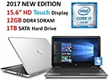 "2017 HP Pavilion 15.6"" HD Touchscreen Display Gaming Laptop, Intel Core i7-6500U Processor, 12GB RAM, 1TB HDD, NVIDIA GeForce 940MX, Backlit Keyboard, SuperMulti DVD, Wi-Fi, Bluetooth, Windows 10"